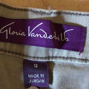 Gloria Vanderbilt Jeans - Gloria Vanderbilt tan colored jeans SZ 12 EUC